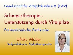 Webinar: Schmerztherapie - Unterstützung durch Vitalpilze