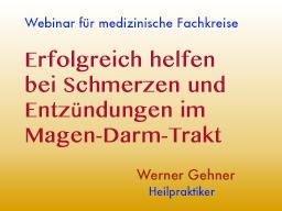 Webinar: Erfolgreich helfen bei Schmerzen und Entzündungen im Magen-Darm-Trakt