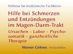 Webinar: Hilfe bei Schmerzen und Entzündungen im Magen-Darm-Trakt