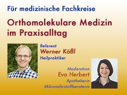 Webinar: Orthomolekulare Medizin im Praxisalltag