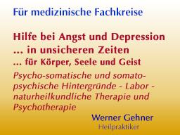 Webinar: Hilfe bei Angst und Depression  in unsicheren Zeiten