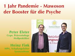 Webinar: 1 Jahr Pandemie - Mawoson der Booster für die Psyche