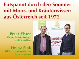 Webinar: Entspannt durch den Sommer - mit Moor- und Kräuterwissen aus Österreich seit 1972